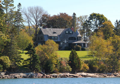 Maine Oceanfront home - waterfront real estate