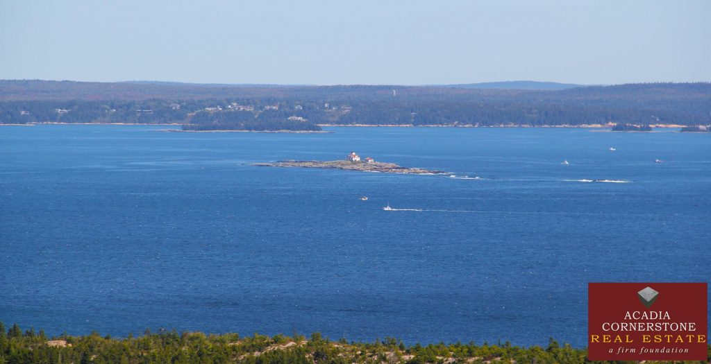 Acadia National Park - Looking at Egg Rock Lighthouse
