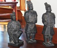 Bronze soldiers