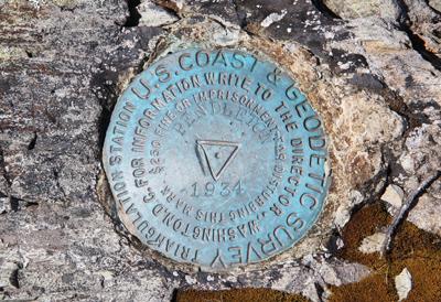 US Geodetic Survey marker